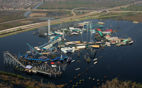 The Old Six Flags New Orleans - Photo