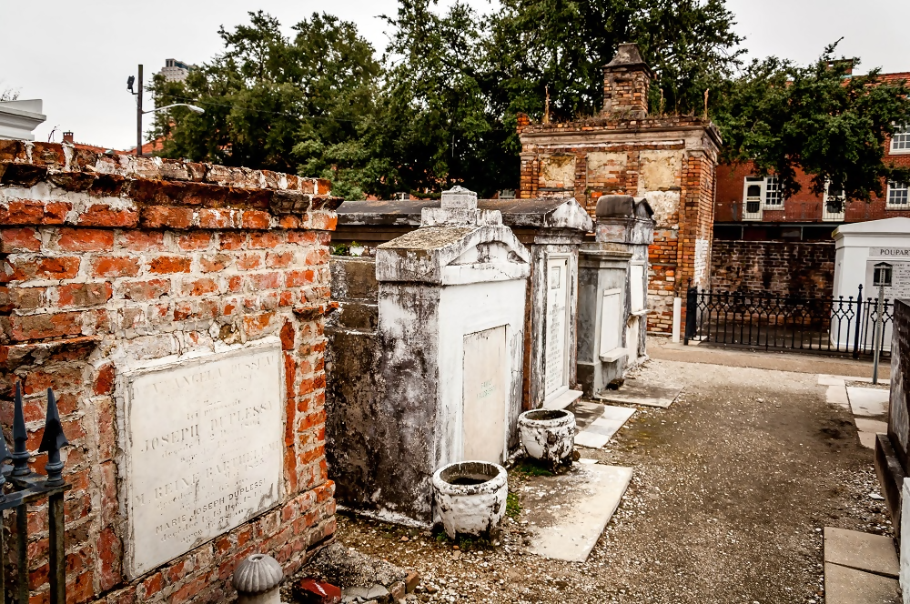 The St. Louis Cemetery No. 1 - Photo