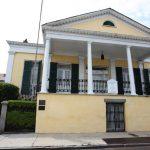 Front entrance of the Beauregard Keyes House.