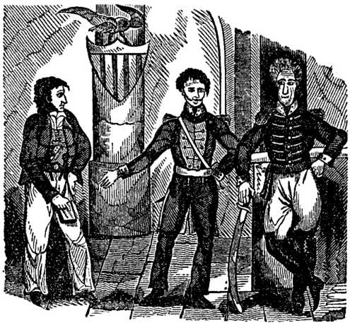 Historical sketch of the meeting between Lafitte and Jackson